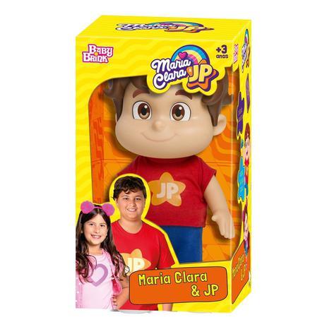 Boneco João Pedro Jp - Baby Brink