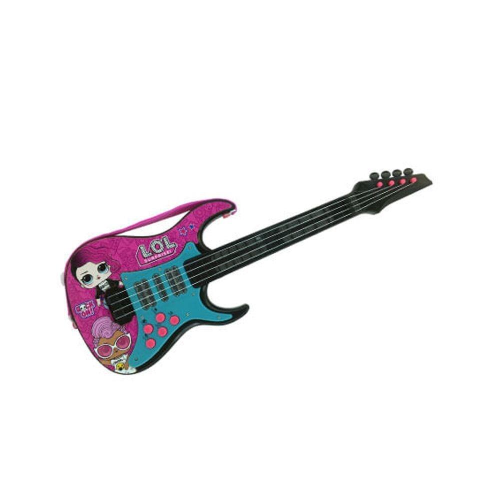 Guitarra Musical Lol Surprise Com Luzes E Som - Candide