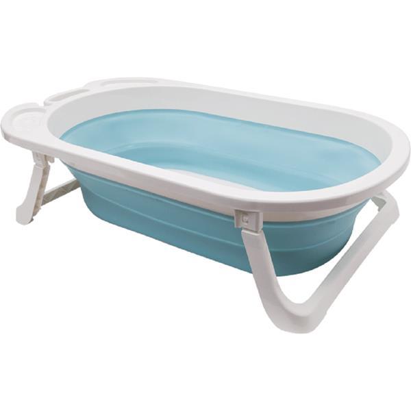 Banheira Dobrável Baby Cor Azul - Buba