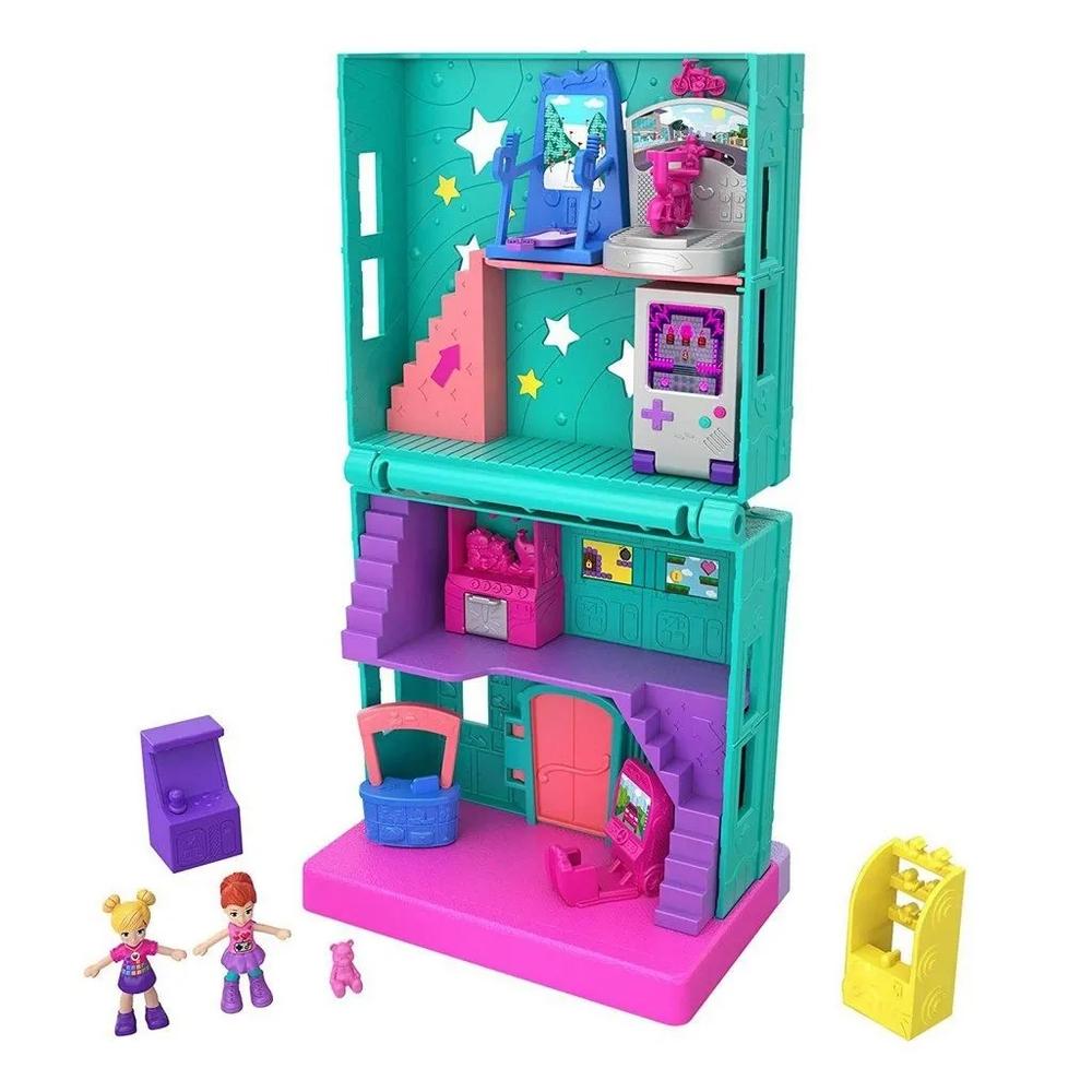 Mini Boneca Polly Pocket Fliperama - Ggc29 - Mattel