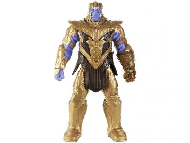 Boneco Thanos 30cm Deluxe 2.0 - E4018 - Hasbro