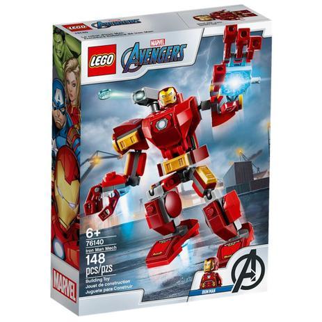 Lego Super Heroes - Avengers - Robô Iron Man - 76140
