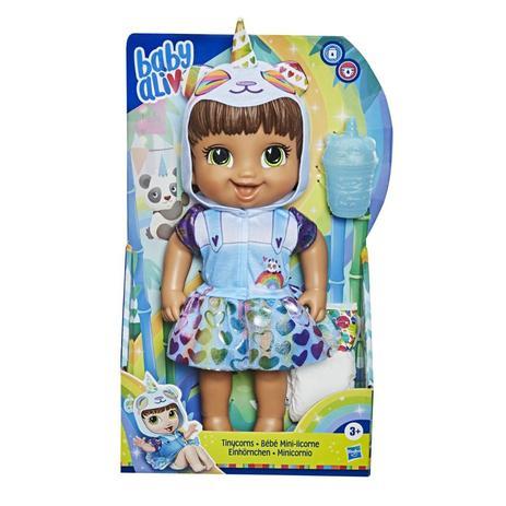 Boneca Baby Alive Tinycorns - Panda Morena - E9422 - Hasbro