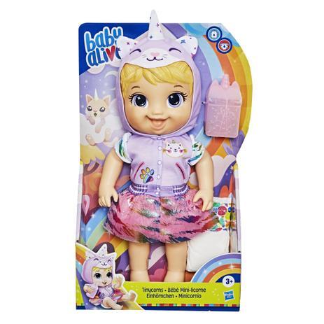 Boneca Baby Alive Tinycorns - Gatinha Loira - E9423 - Hasbro
