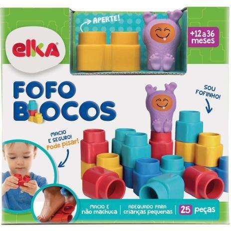 Fofo Blocos 25 Pecas - Elka