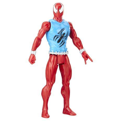 Boneco Scarlet Spider 30cm - E8521 - Hasbro