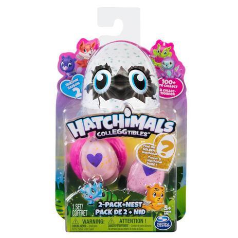 Mini Figura Surpresa Hatchimals Série 2 - Sunny