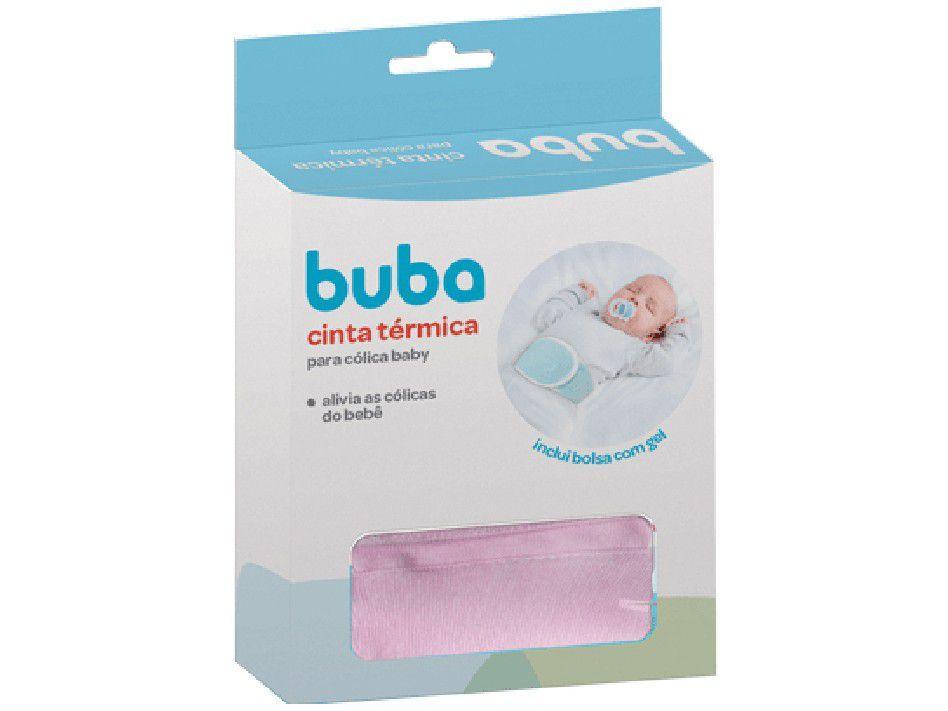 Cinta Térmica Para Cólica Baby Rosa - Buba