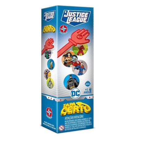 Jogo Tapa Certo Liga Da Justiça - Estrela