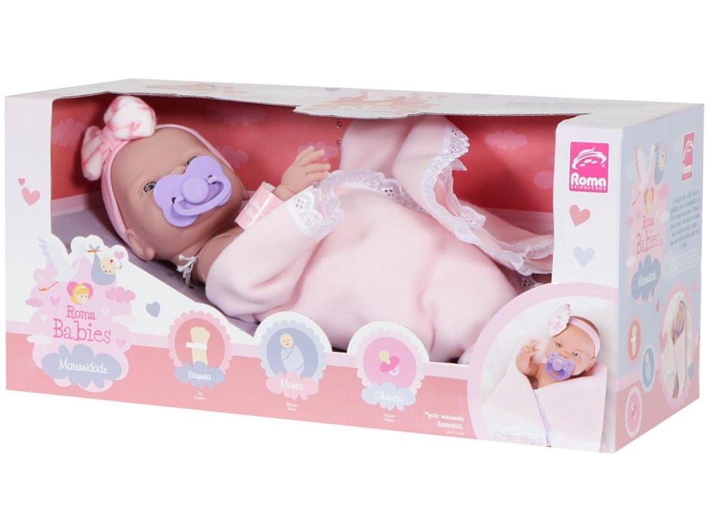 Boneca Babies Maternidade - 5055 - Roma