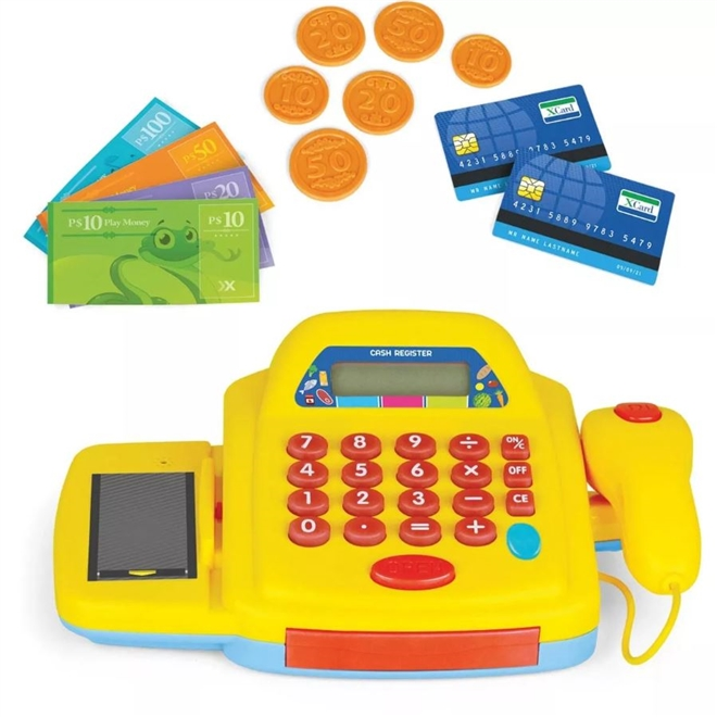 Caixa Registradora Mini Mercado - Xplast