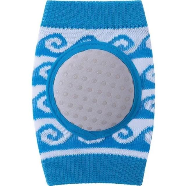 Joelheira Soft 06 A 12 Meses Azul/ondas - Pimpolho