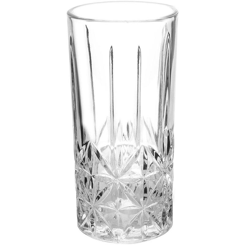 Copo Alto Casa Ambiente Long Drink de Vidro 370ml Requinte
