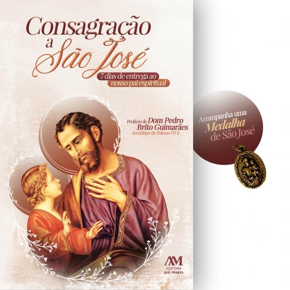 Consagração a São José - Acompanha uma medalha