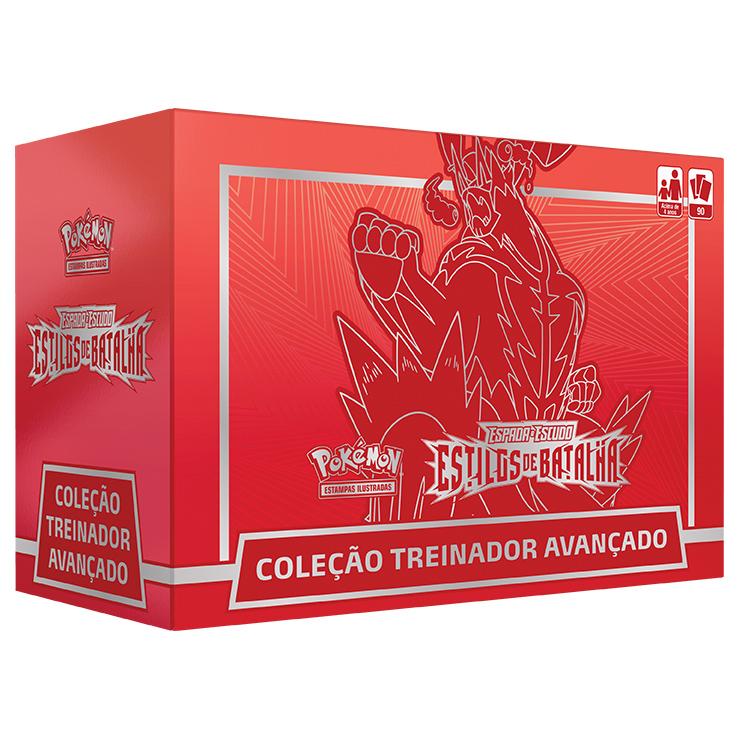 POKEMON BOX TREINADOR AVANCADO VERMELHO