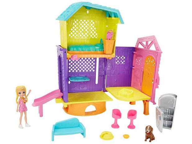 Boneca Polly Pocket Clubhouse C/ Acessórios - Mattel - Gmf81