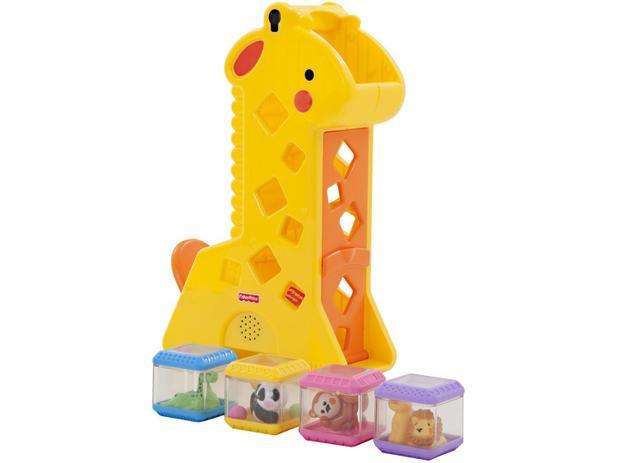 Girafa De Atividades Com Blocos - Fisher-price - B4253