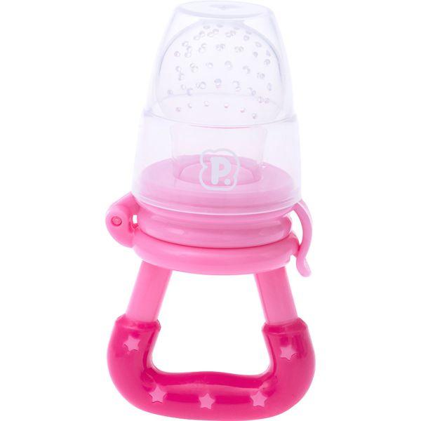 Alimentador Infantil De Silicone Rosa - Pimpolho