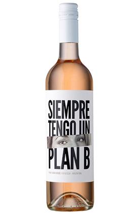 Siempre Tengo Un Plan B Malbec Pinot Noir Rosé 750ml
