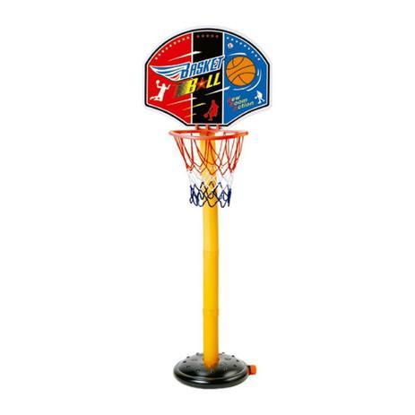 Kit Basketball Com Pedestal Ajustável Go Play - Multikids