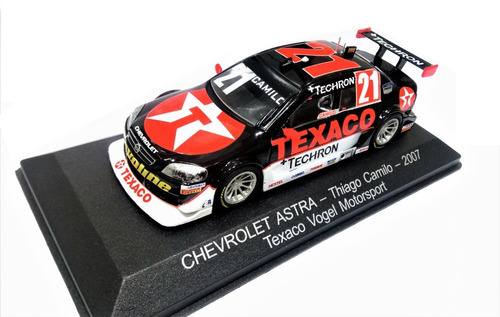 Stock Car: A Coleção Oficial - Fascículo + Miniatura: Chevrolet Astra (2007) - Thiago Camilo