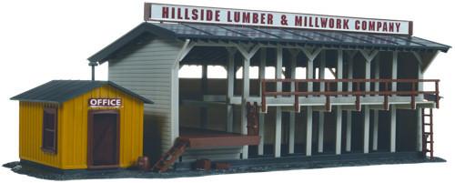 Atlas - HO Lumber Yard and Office Building Kit - #750