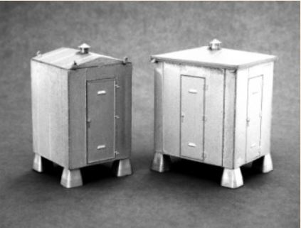 Grandt Line - HO Standard Relay House 2 Styles Kit - #5910