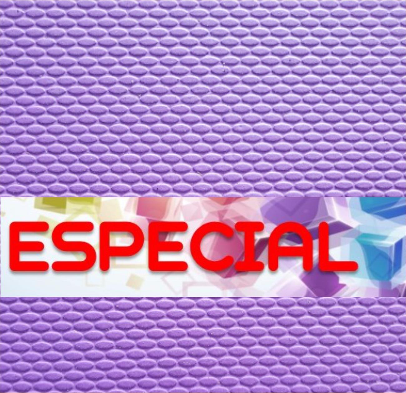 Placa de Borracha Microporosa ESPECIAL - 1,70 x 0,90 - 60% BORRACHA