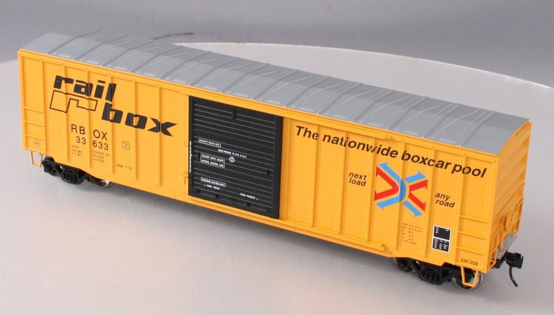 "Atlas - HO ACF 50' 6"" Box Car Rail Box - #33633"