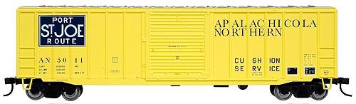 "Atlas - HO ACF 50' 6"" Box Car Apalachicola Northern - #5011"