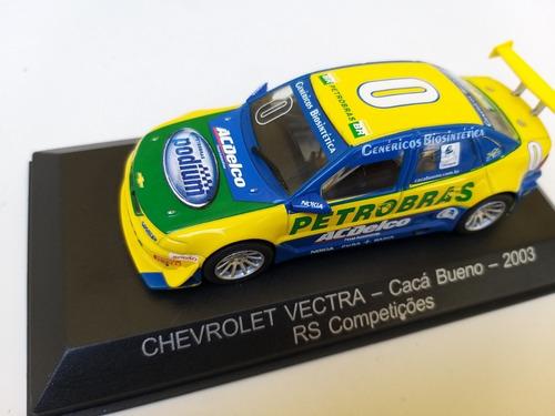 Stock Car: A Coleção Oficial - Fascículo + Miniatura: Chevrolet Vectra (2003) - Cacá Bueno
