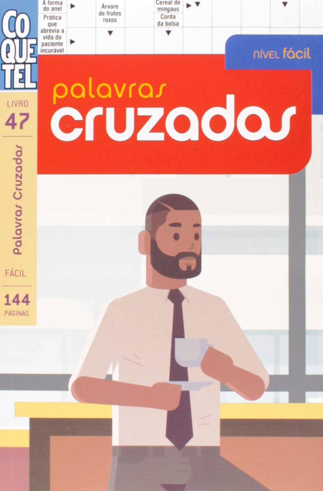 Coquetel: Palavras cruzadas - Livro 47 - Fácil