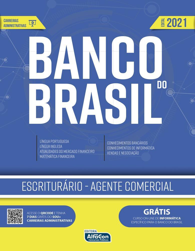 Apostila para o concurso do Banco do Brasil - Escriturário - Agente Comercial