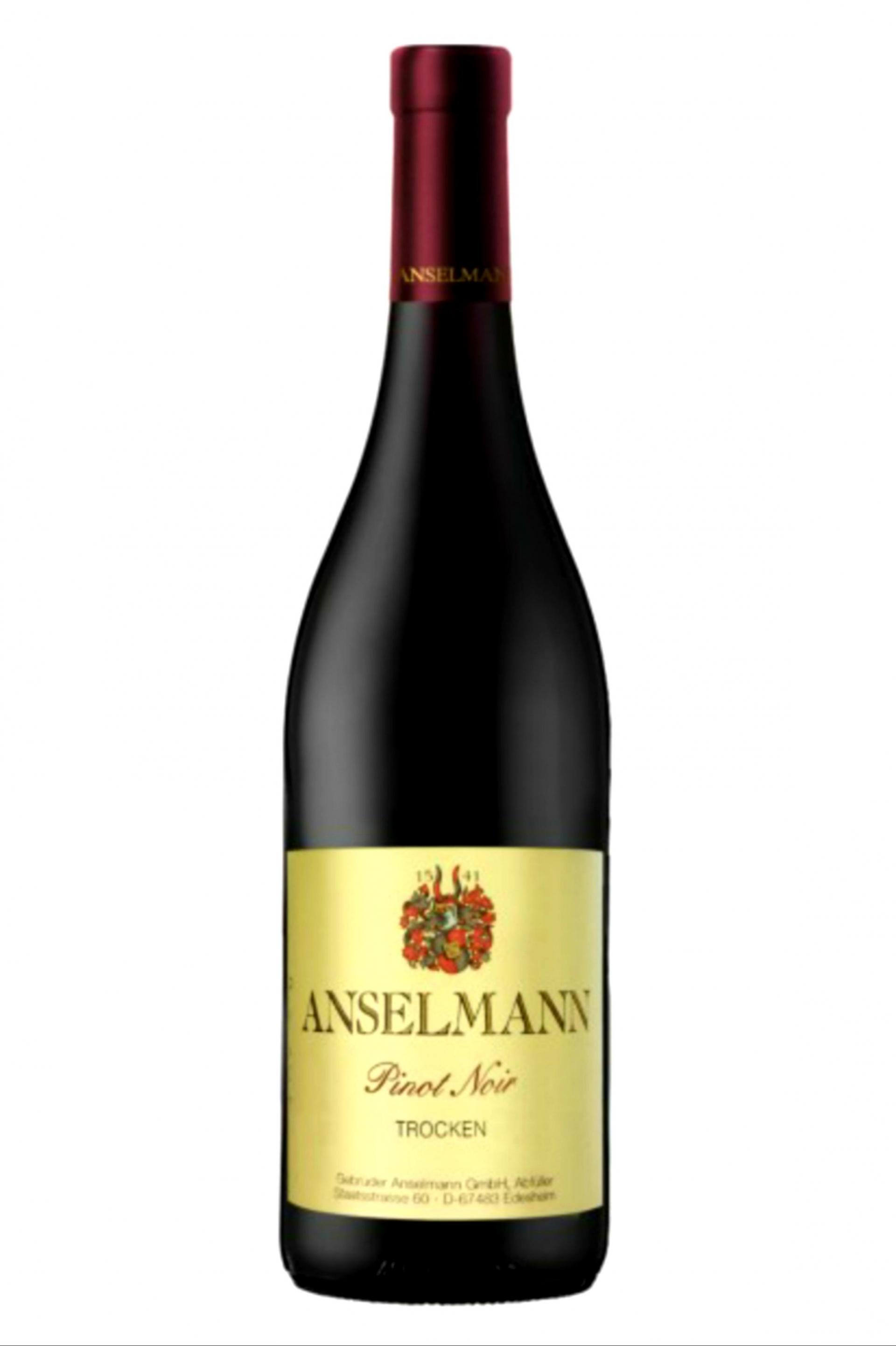Anselmann Pinot Noir Spätburgunder Trocken 750ml