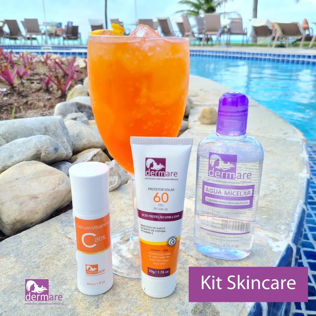 Kit Skin Care Dermare