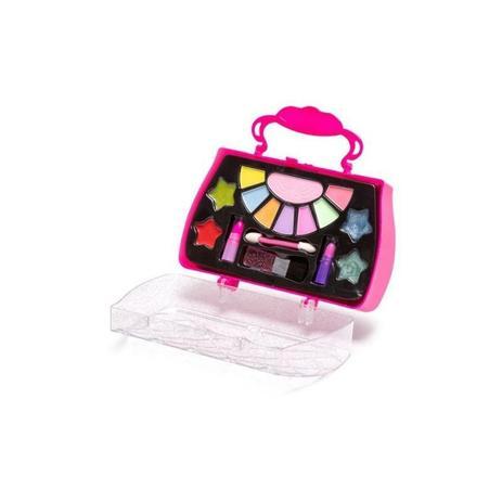 Kit Maquiagem Infantil Sombras, Batom E Gloss - Polibrinq