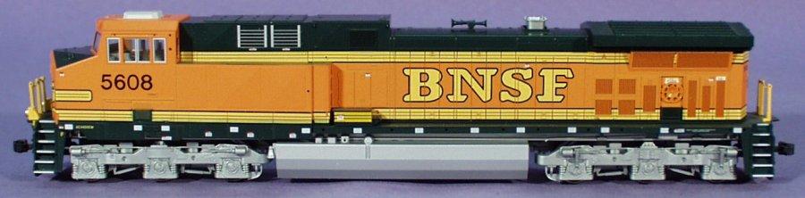 Kato - HO GE AC4400CW BNSF 37-6441 Diesel DCC - #5608