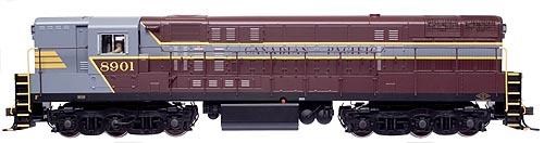 Atlas - HO Train Master Gold Diesel Canadian Pacific Decoder & Sound - #8901
