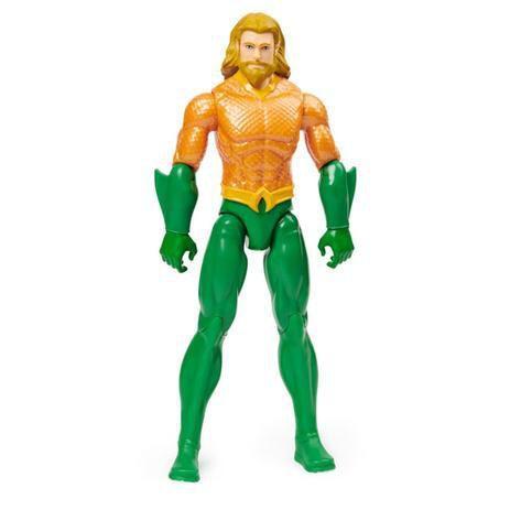 Boneco Aquaman 30cm Articulado Liga Da Justiça - Sunny