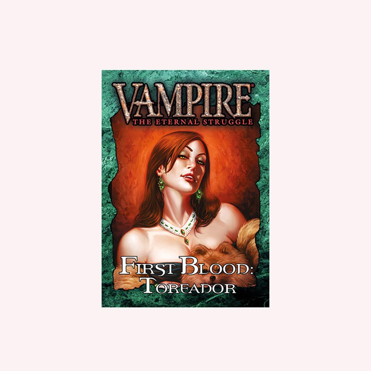 VAMPIRE THE ETERNAL STRUGGLE - PRIMEIRO SANGUE TOREADOR