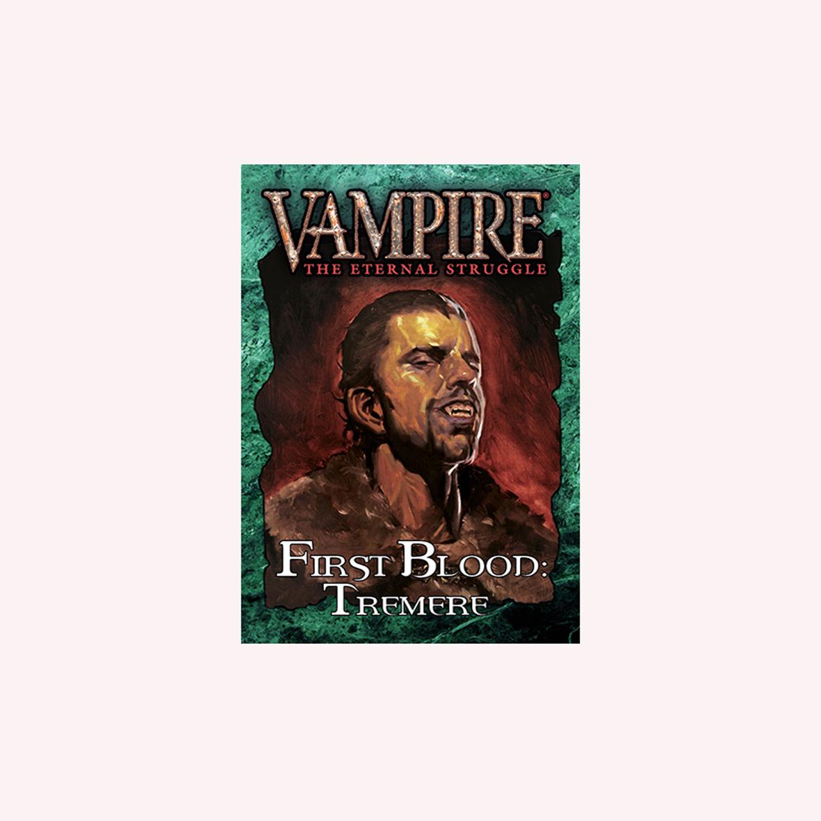 VAMPIRE THE ETERNAL STRUGGLE - PRIMEIRO SANGUE TREMERE