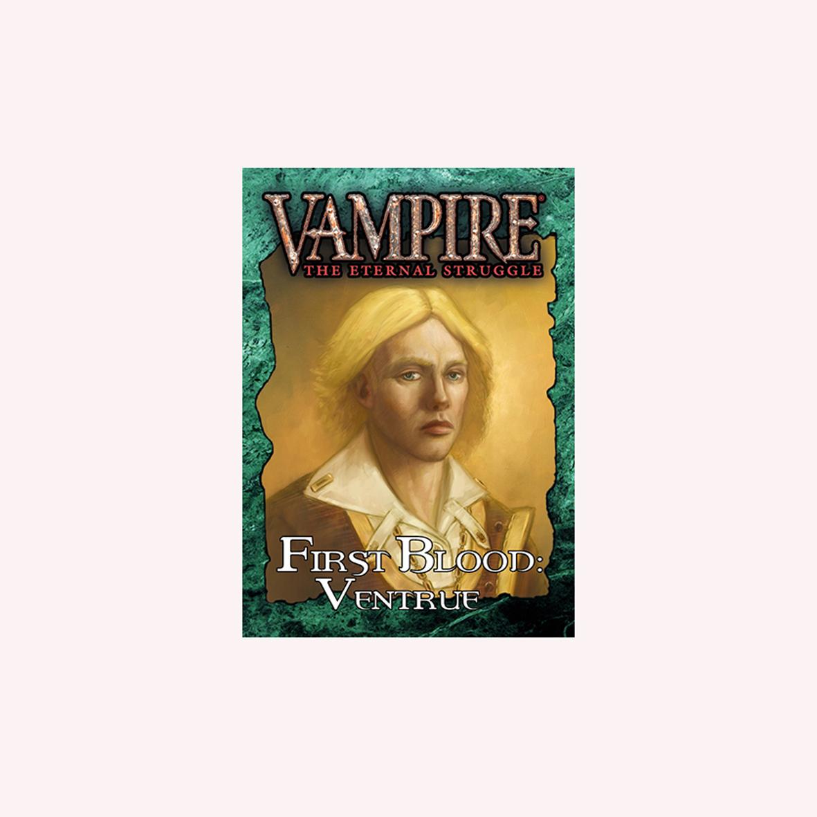 VAMPIRE THE ETERNAL STRUGGLE - PRIMEIRO SANGUE VENTRUE