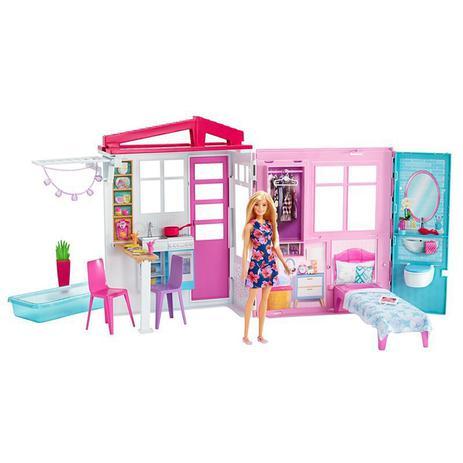 Boneca Barbie Casa Glam - Fxg55 - Mattel