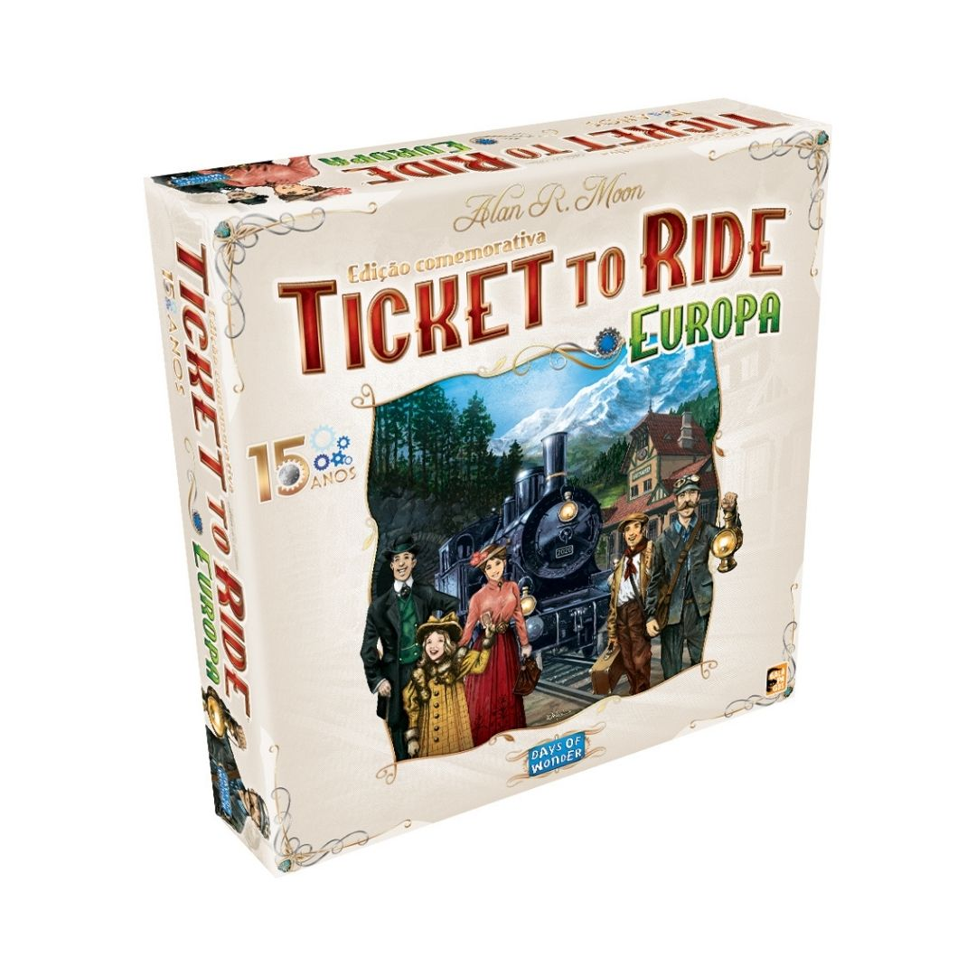 TICKET TO RIDE EUROPA 15 ANOS + SLEEVES