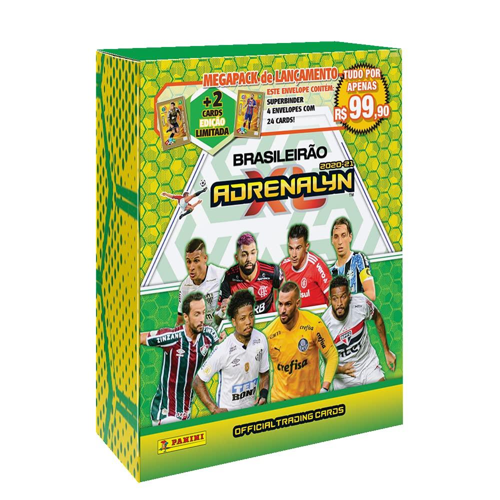 Megapack Official Adrenalyn XL brasileirão 2020-21