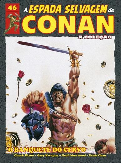 A espada selvagem de Conan: Banquete do cervo - Vol. 46