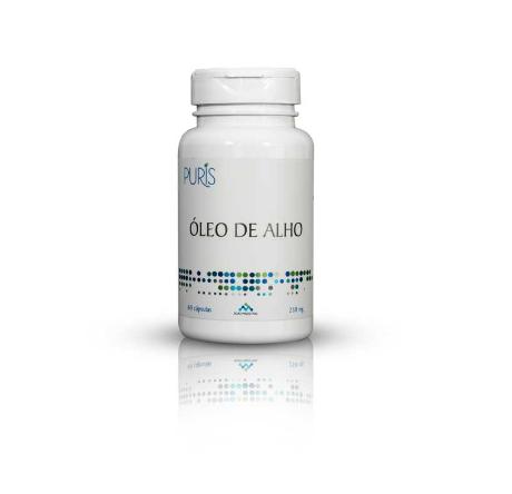 ÓLEO DE ALHO 500MG 60CP