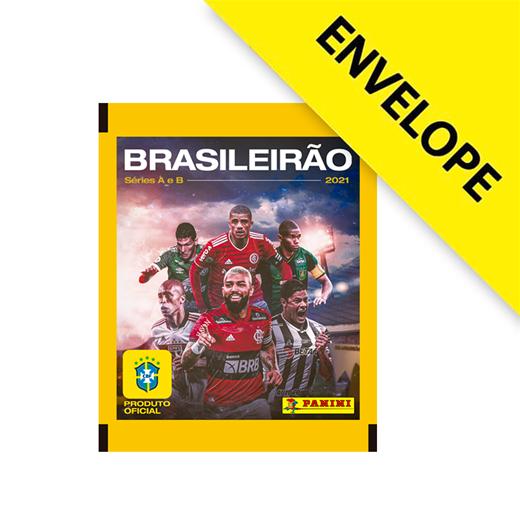 Figurinhas Campeonato Brasileiro 2021 - Envelope com 5 cromos