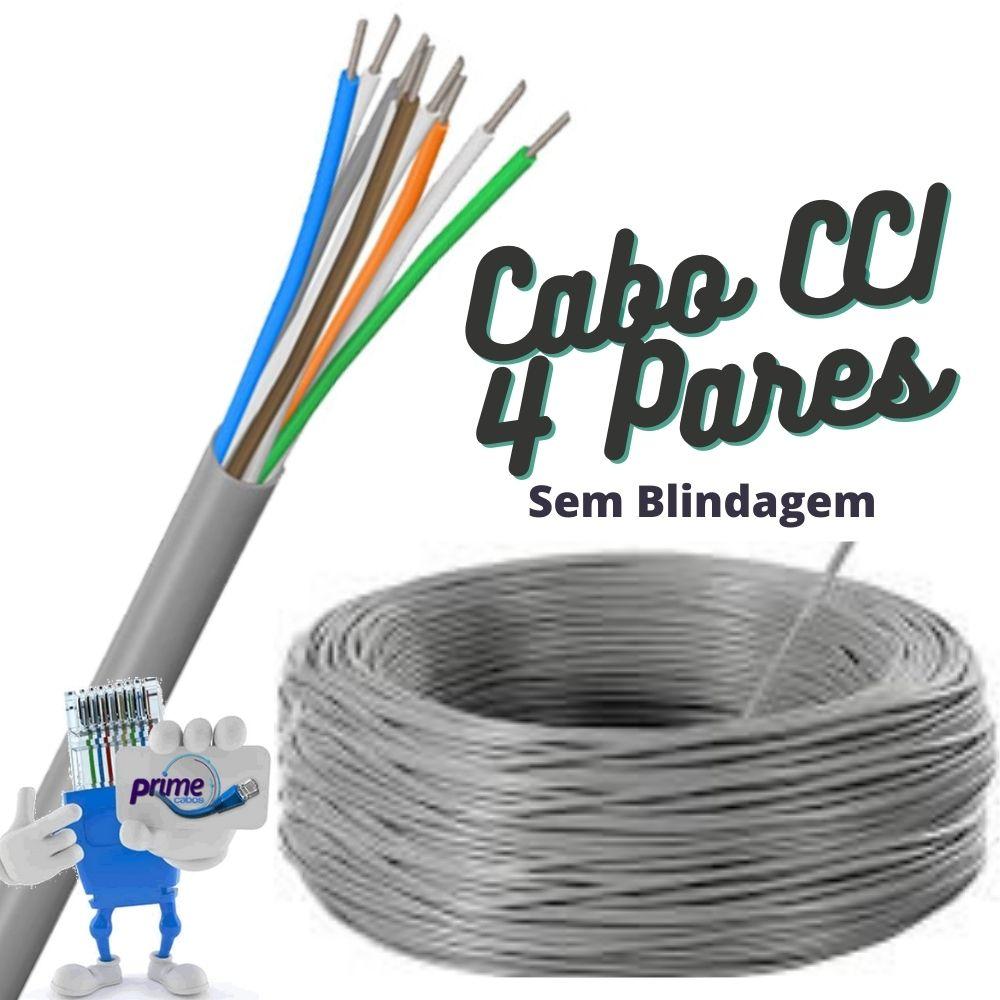 Cabo Telefônico Interno CCI 50x04 Pares com 200 Metros