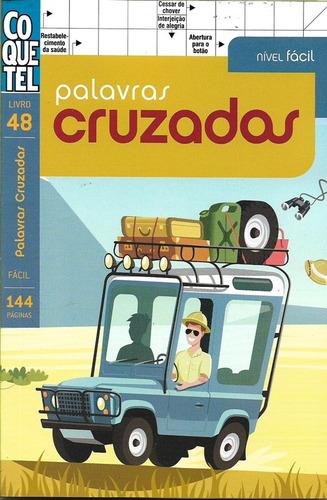 Coquetel: Palavras cruzadas - Livro 48 - Fácil